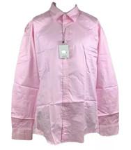 Cutter- Men's Regular Fit (43-17) Light Pink Long Sleeve Dress Shirt - $11.26
