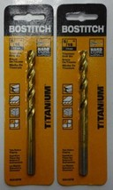 "Bostitch BSA120TM Drill Bit 5/16"" Titanium Heavy Duty Power Drill Bit 2pcs. - $6.44"