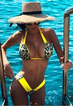 Frisky Leopard Print Bikini Set - $37.60