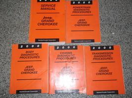 2000 Jeep Grand Cherokee Service Repair Manual Set OEM FACTORY DEALERSHI... - $198.00