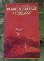 1970 A E Van Vogt PLANETS FOR SALE-Tempo Books Vintage Science Fiction P... - $12.00