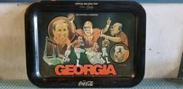 Coca-Cola Georgia Bulldogs 1980 National Champions Tray - $19.79