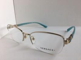 New Elegant Versace Mod. 1230-B 1362 54mm Semi-Rimless Women's Eyeglasse... - $179.99