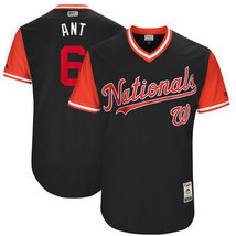 New Mens Washington Nationals #6 Anthony Rendon Ant Jersey Navy 2017 Pla... - €34,82 EUR