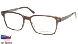 NEW PRODESIGN DENMARK 6913 c.5021 BROWN EYEGLASSES FRAME 53-17-140 B37mm... - $138.59