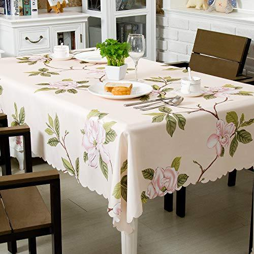 """Hewaba Rectangle Printed Tablecloth - 60"""" x 84"""" Polyester ..."""