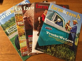 Farm and Ranch Living - Lot A - Lot of 5 Magazines - Good Condtion - $18.00