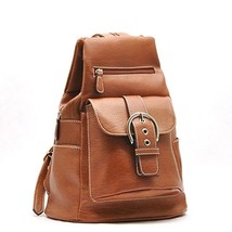 LARGE 13h inches BACKPACK PURSE by Belle Rose BROWN NEW SLING HANDBAG AU... - $32.99