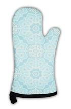 Oven Mitt, Turquoise Pattern - $24.50+