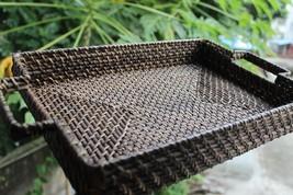 Natural Basket Article Storage Basket Serving Tray Organizer Home Decora... - $23.19