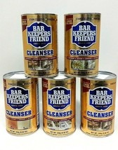 Bar Keeper's Friend Cleanser Polish Stainless Steel 8.82 oz Ea (5 Pack) ... - $29.69