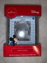 Hallmark Disney 2019 Baby's 1st Christmas Holiday Ornament Mickey Mouse ... - $14.00