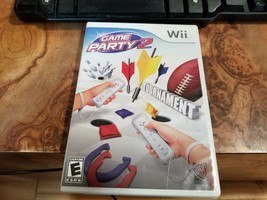 Game Party 2 (Nintendo Wii, 2008) Includes Game Disc, Box, and Instructions - $3.95