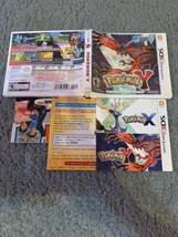 POKEMON Y 3DS  (**NO GAME**) Replacement Case - $4.00