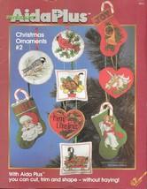 Zweigart Aida Plus - Christmas Ornaments #2 - Cross Stitch - $9.90