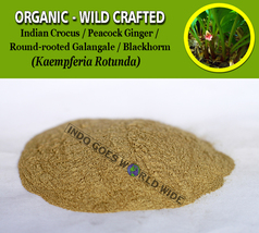 POWDER India Resurrection Lily Ciok Yek San Nai Kaempferia Angustifolia Organic - $7.99+