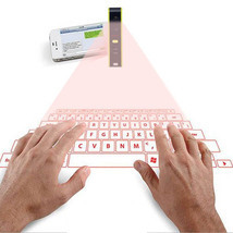 Bluetooth laser projection virtual phone keyboard mouse  - £30.35 GBP