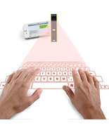Bluetooth laser projection virtual phone keyboard mouse  - £27.78 GBP