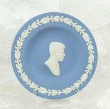 "Wedgwood Small Plate Blue John F. Kennedy JFK 4-3/8"" Jasperware - £10.68 GBP"