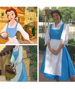 Beauty and the Beast Womens Belle Blue Dress Belle Costume - $95.00