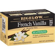 Bigelow Decaffeinated French Vanilla Tea ,Decaffeinated Individual Black... - $21.22