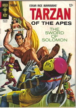 Tarzan Comic Book #148, Gold Key Comics 1965 FINE - $13.54