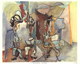 Max Weber-Three Musicians-Poster - £32.29 GBP
