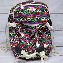 The North Face BETTY Womens Snow School Backpack Colorful Checks - $27.95