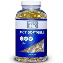 Kiss My Keto MCT Oil Capsules - 1000 mg 300 Count - Take MCT with You On... - $27.99
