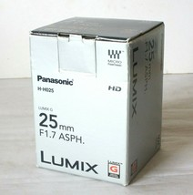 Box For Panasonic Lumix 25mm Lens - Empty Box Only - $16.28