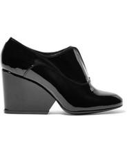 NEW ROBERT CLERGERIE Trevor Patent Leather Ankle Boots (Size 36) - MSRP ... - $249.95