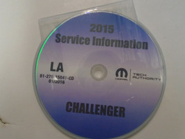 2015 Dodge Challenger Service INFORMATION Shop Repair Manual CD BRAND NEW - $197.99