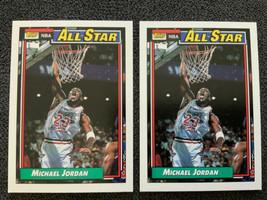 2 X 1992-93 Topps Set Break #115 Michael Jordan - $9.63