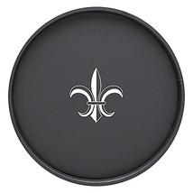 Kraftware Round Vinyl Fleur De Lis Serving Tray... - $29.99