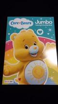 CARE BEARS Funshine Sunshine Yellow Coloring Activity Book Stocking Stuffer - $6.00