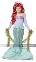 NEW Little Mermaid Child Halloween Costume, Ariel, by California Costume... - £15.04 GBP