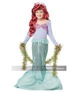NEW Little Mermaid Child Halloween Costume, Ariel, by California Costume... - £15.13 GBP