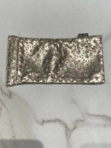 Aldo Women's Rose Gold Laser Cut Sun Or Eye Glasses Case Soft Pouch - $11.98