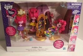my Little Pony Equestria Girls Minis Pinkie Pie Switch-A-Do Salon. NEW I... - $32.00