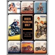 Nostalgic-Art 83018 Best Garage - Biker Parking Only, Magnet-Set (9teilig) - $12.79