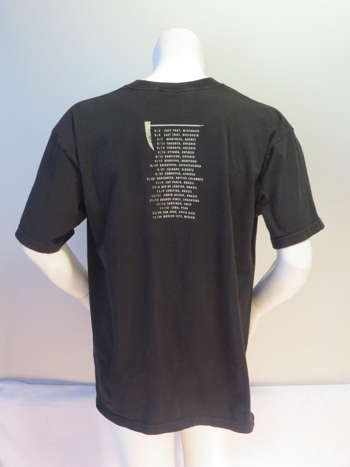 Pearl Jam Tour Shirt - 2011 World Tour - Men's Extra Large