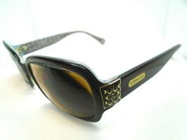 Coach Womens Rx Sunglasses/Eyeglass Frames Amelia S814 Brown 58-16-130 - $24.99