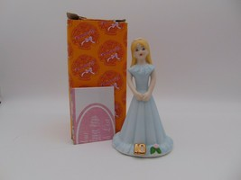 Enesco Growing Up Girls Blonde Figurine Age 10 E-2310 New in Box 1981 - $16.83