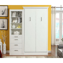 Athena Twin Wall Bed with Storage Cabinet - £1,650.11 GBP