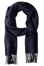 BOSS Hugo Boss Men's Albarello 2 Scarf, Navy, One Size - £45.05 GBP