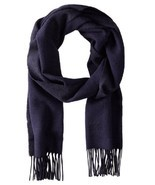 BOSS Hugo Boss Men's Albarello 2 Scarf, Navy, One Size - £43.58 GBP