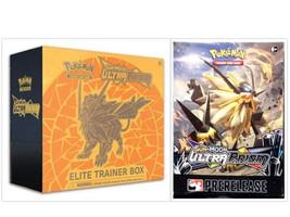 Pokemon TCG Dusk Mane Necrozma Elite Trainer Box + Ultra Prism Prereleas... - $89.99