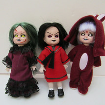 Living Dead Dolls MINI Trio Club Mez Japan Exclusive LTD Edit DEBOXED MINT - $75.00