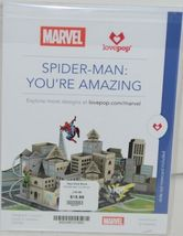 Lovepop LP2186 Spider Man Youre Amazing Red Pop Up Card White Envelope image 6