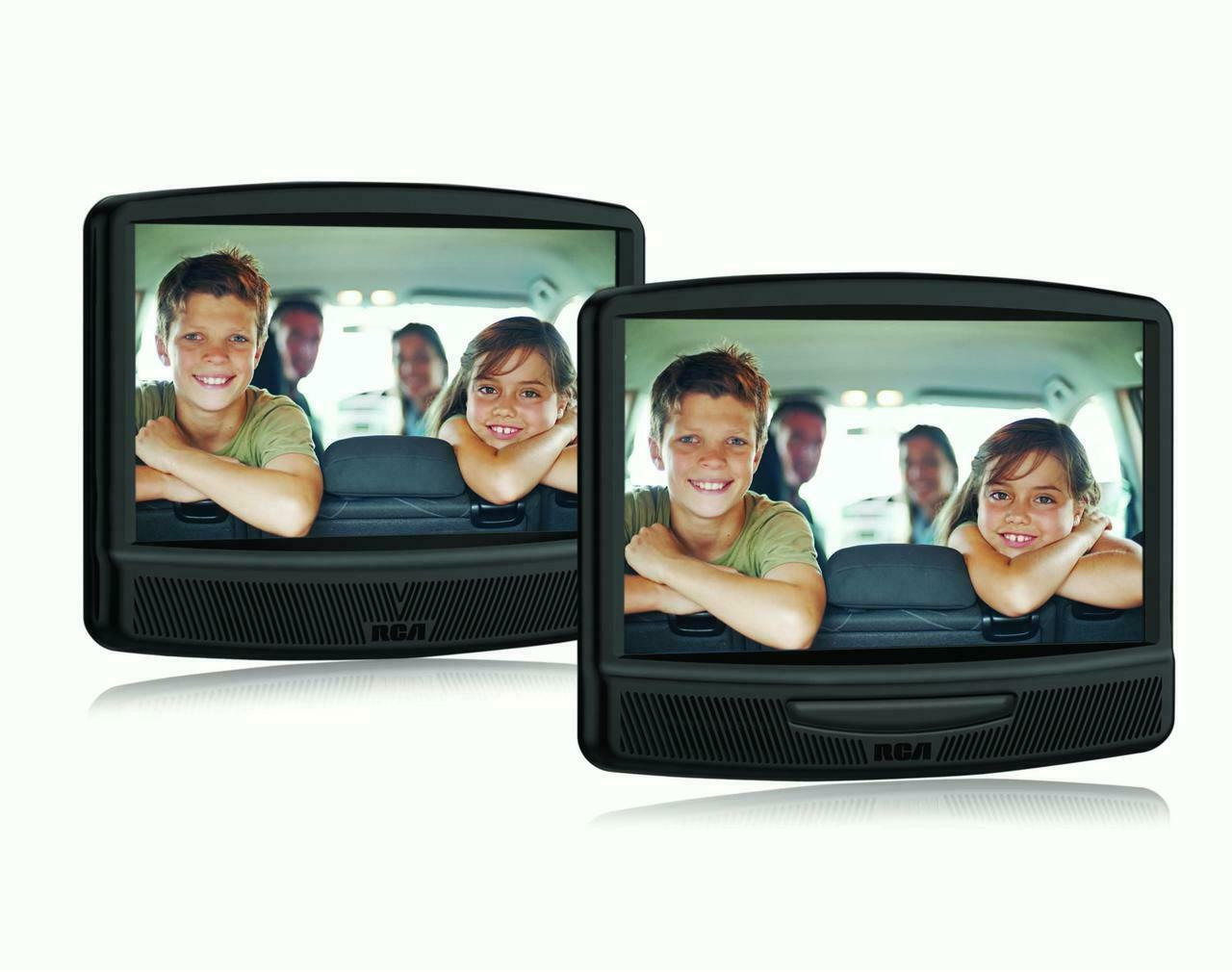 "RCA DRC79108 10"" Dual Screen Mobile DVD System Black"